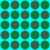 Vector o teste padrão floral Foto de Stock Royalty Free