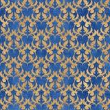 Teste padrão sem emenda do papel de parede floral do vetor Imagens de Stock