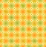 Vector o teste padrão retro multicolorido do vintage do fundo com molde geométrico dos círculos lustrosos para papéis de parede, t Fotografia de Stock