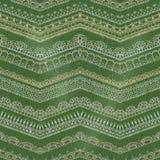 Vector o teste padrão sem emenda do giz de fazem crochê bordas laçado Fotografia de Stock Royalty Free