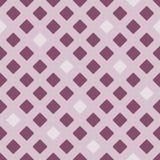 Vector o teste padrão sem emenda dos rhombuses cinzento-vermelhos Fotografia de Stock