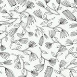 Vector o teste padrão sem emenda Fundo à moda floral Fotos de Stock