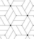 Vector o teste padrão sem emenda Linha moderna fundo geométrico Foto de Stock