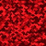 Vector o teste padrão sem emenda moderno do cubo da geometria, geométrico abstrato Fotos de Stock