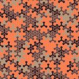 Vector o teste padrão sem emenda moderno do tessellation da geometria, abstrato Fotografia de Stock Royalty Free