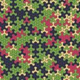 Vector o teste padrão sem emenda moderno do tessellation da geometria, abstrato Fotografia de Stock
