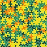 Vector o teste padrão sem emenda moderno do tessellation da geometria, abstrato Foto de Stock Royalty Free