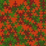 Vector o teste padrão sem emenda moderno do tessellation da geometria, abstrato Imagem de Stock Royalty Free