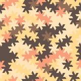 Vector o teste padrão sem emenda moderno do tessellation da geometria, abstrato Foto de Stock