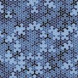 Vector o teste padrão sem emenda moderno do tessellation da geometria, g abstrato Foto de Stock Royalty Free