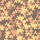 Vector o teste padrão sem emenda moderno do tessellation da geometria, g abstrato Imagens de Stock