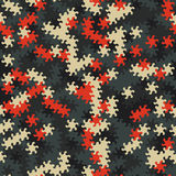 Vector o teste padrão sem emenda moderno do tessellation da geometria, g abstrato Imagem de Stock