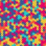 Vector o teste padrão sem emenda moderno do tessellation da geometria, g abstrato Fotografia de Stock Royalty Free