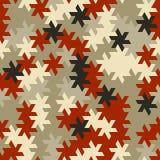Vector o teste padrão sem emenda moderno do tessellation da geometria, g abstrato Fotografia de Stock