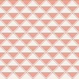 Vector o teste padrão sem emenda Repetindo rombos com triang listrado Imagem de Stock Royalty Free