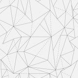 Vector o teste padrão sem emenda textura à moda moderna Repetindo telhas geométricas com rombo pontilhado fotografia de stock
