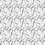 Vector o teste padrão sem emenda textura à moda moderna Repetindo telhas geométricas com rombo pontilhado foto de stock royalty free