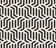 Vector o teste padrão sem emenda Textura abstrata à moda moderna Repetindo telhas geométricas ilustração stock