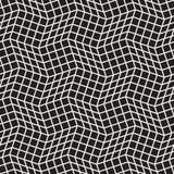 Vector o teste padrão sem emenda Textura abstrata à moda moderna Repetindo o tilesn geométrico ilustração do vetor