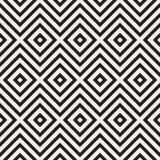 Vector o teste padrão sem emenda Textura abstrata à moda moderna Repetindo o tilesn geométrico ilustração stock