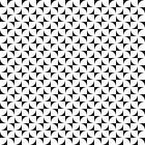 Vector o teste padrão sem emenda Textura abstrata das formas Fundo preto e branco Projeto monocromático ilustração royalty free