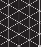 Vector o teste padrão sem emenda Textura geométrica linear moderna Fotos de Stock Royalty Free