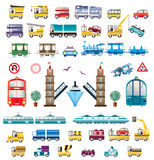 Vector o transporte Fotografia de Stock Royalty Free