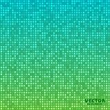 Vector o verde azul do fundo brilhante abstrato do inclinação do mosaico ilustração do vetor