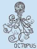 Vector Octopus Stock Photo