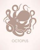 Vector octopus Royalty Free Stock Photo