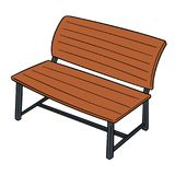 Vector Of Bench Royalty Free Stock Photography