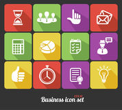 Vector Office and Business icons set Stock Photography