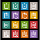 Vector office document icon Royalty Free Stock Photo