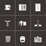 Vector office icon set Royalty Free Stock Photo