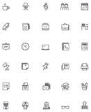 Vector office icon set Stock Photos