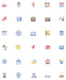 Vector office icon set Stock Photography