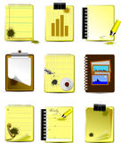 Vector Office icons Stock Photo