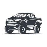 Vector offroad car2 Royalty Free Stock Photography