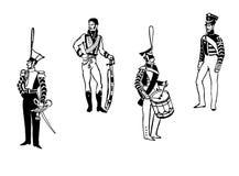 Vector oficiais da ilustração Imagem de Stock