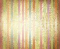 Vector old paper texture with colorful stripes. Stock Photo