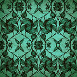 Vector old style floral seamless pattern Royalty Free Stock Photos