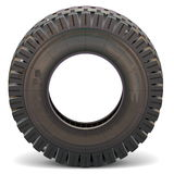 Vector Old Truck Tire Stock Images