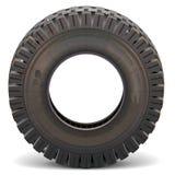 Vector Old Truck Tire stock illustration