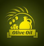 Vector olive oil design templates for your design stock illustration