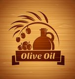 Vector olive oil design templates for your design royalty free illustration