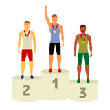 Vector Olympic attributes Royalty Free Stock Photos