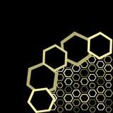Vector omslag van honing stock illustratie