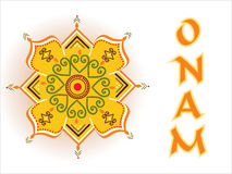 Vector for onam celebration Stock Images