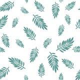 Vector oneindig patroon met takjes vector illustratie