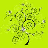 Vector ontwerpboom Stock Afbeelding